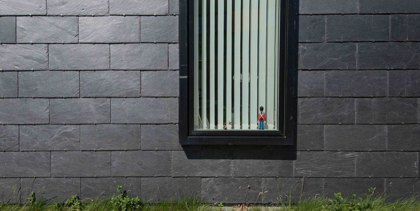 Natural slate cladding the perfect solution for architecture