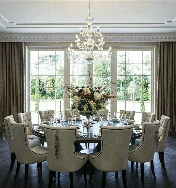Pin By Zarria Marsh On Apartment Elegant Dining Room Family