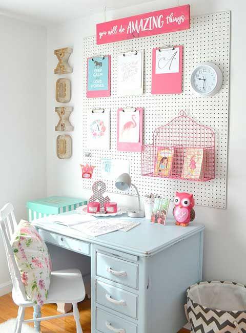 Renovar el dormitorio infantil para el nuevo curso for Ideas para decorar mi escritorio