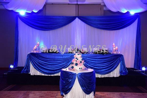 Blue And Pink Wedding Ideas: Wedding Backdrop Design Gallery
