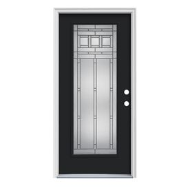Reliabilt Full Lite Prehung Inswing Steel Entry Door