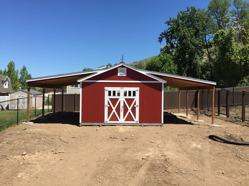 Country Living · The Perfect Storage Solution! A Tuff Shed Dog House And  Storage Building Combination. This