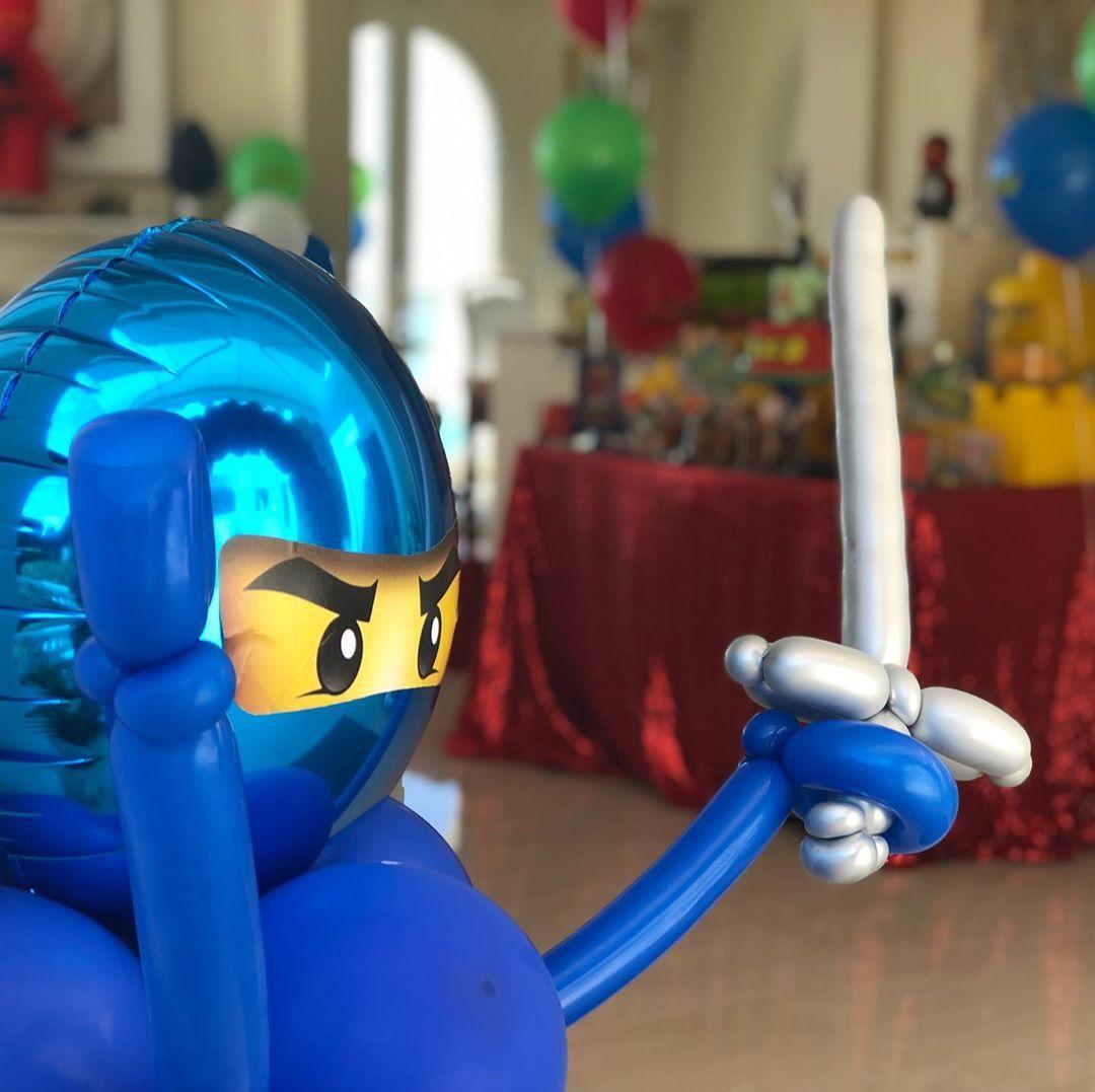 ninjago #balloondesign.  We are working with the best balloon designer! She crea…