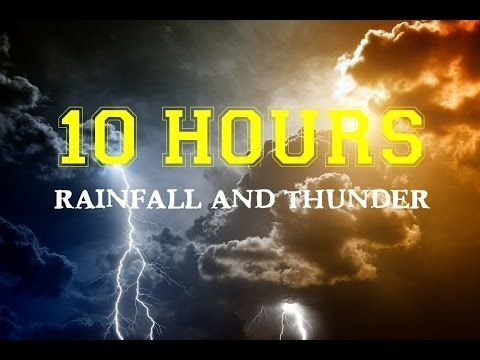 10 Hours Rainfall Gentle Rolling Thunder Rain On Canvas Tent Top Quality Background Nature Music Youtube T Rain And Thunder Nature Music Nature Sounds