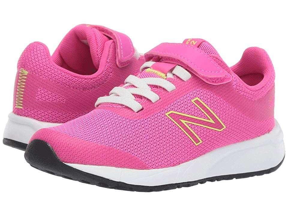 2b37e5f7 New Balance Kids 455v2 (Little Kid/Big Kid) Girls Shoes Peony ...