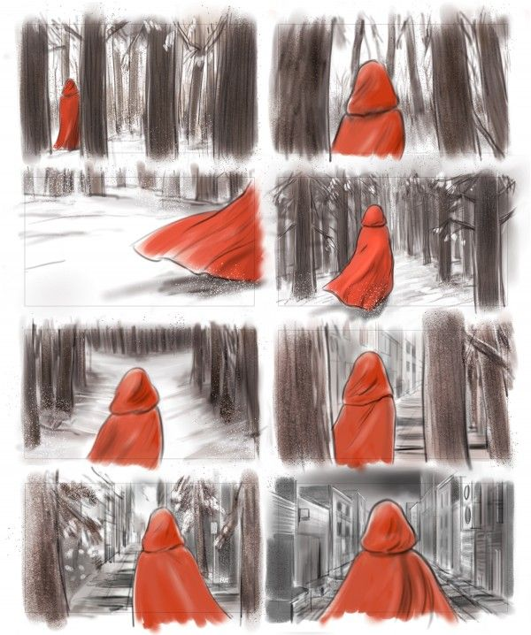 Red Riding Hood Le Petit Chaperon Rouge Chaperon Rouge Dessin