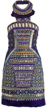 Matthew Williamson Bhangra beaded dress on shopstyle.com
