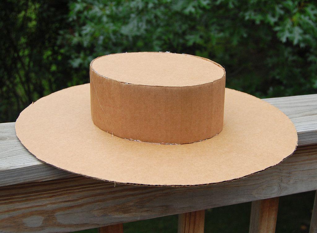 Sombreros Cartón 4 Pegar Como Hacer Sombreros Como
