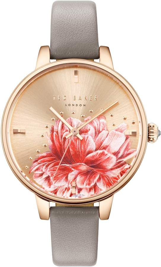 6b4aa5839 Ted Baker Kate Leather Strap Watch, 36mm   Products   Leather ...