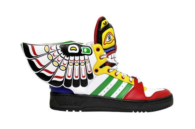 "Adidas Originals X Jeremy Scott – JS Wings ""Totem"" em 2019"