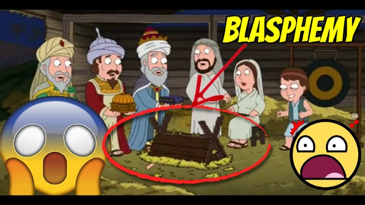 family guy kicks baby jesus in satanic christmas episode - Family Guy Christmas Special