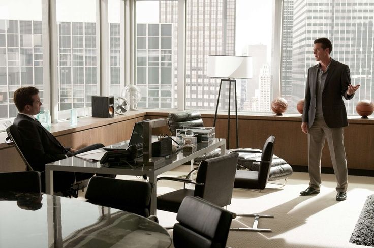 Harvey specter 39 s office stunning places spaces - Small office setup ideas ...
