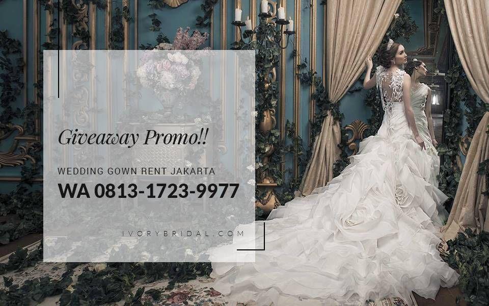 white bridal jakarta, baju pengantin online, vendor