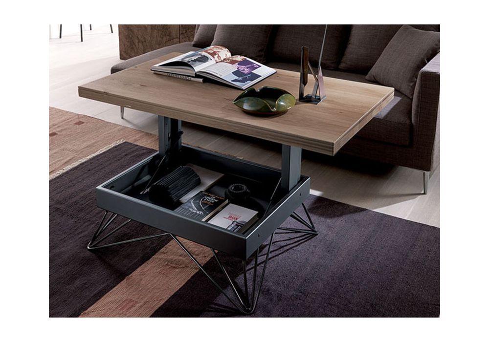 Table Basse Reglable La Maison Du Convertible Raggio Table Basse Reglable Table Transformable Table Basse Relevable