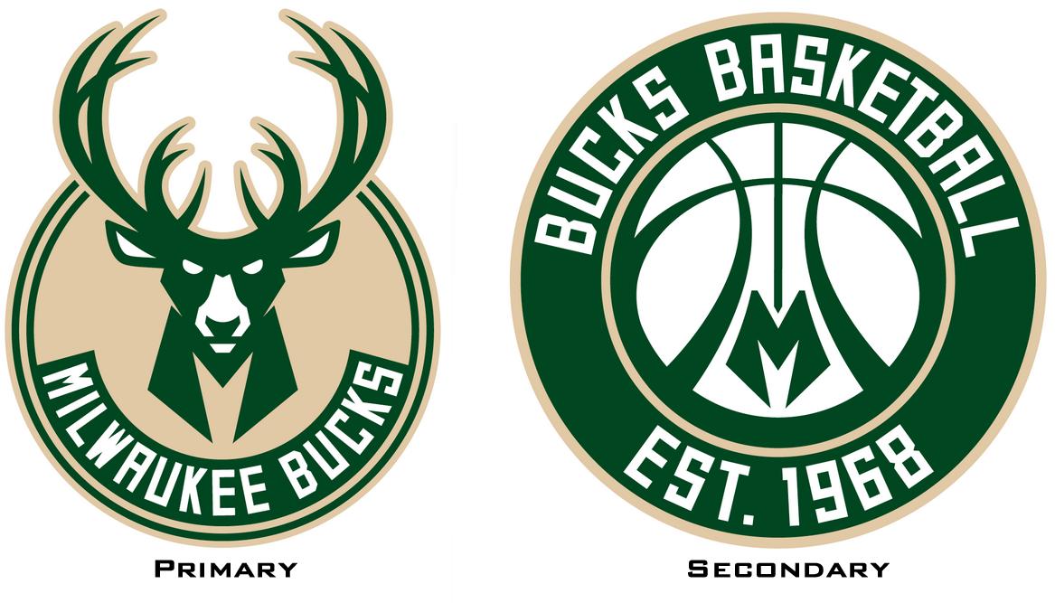 Inside Look Into Bucks Logo Redesign Bucks Logo Logo Redesign Milwaukee Bucks