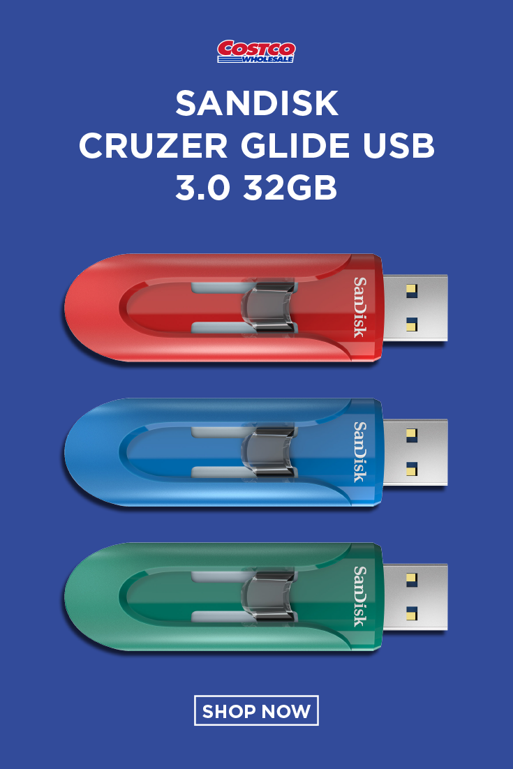 Sandisk Cruzer Glide Usb 3 0 32gb 3 Pack Sandisk Usb Memory Stick