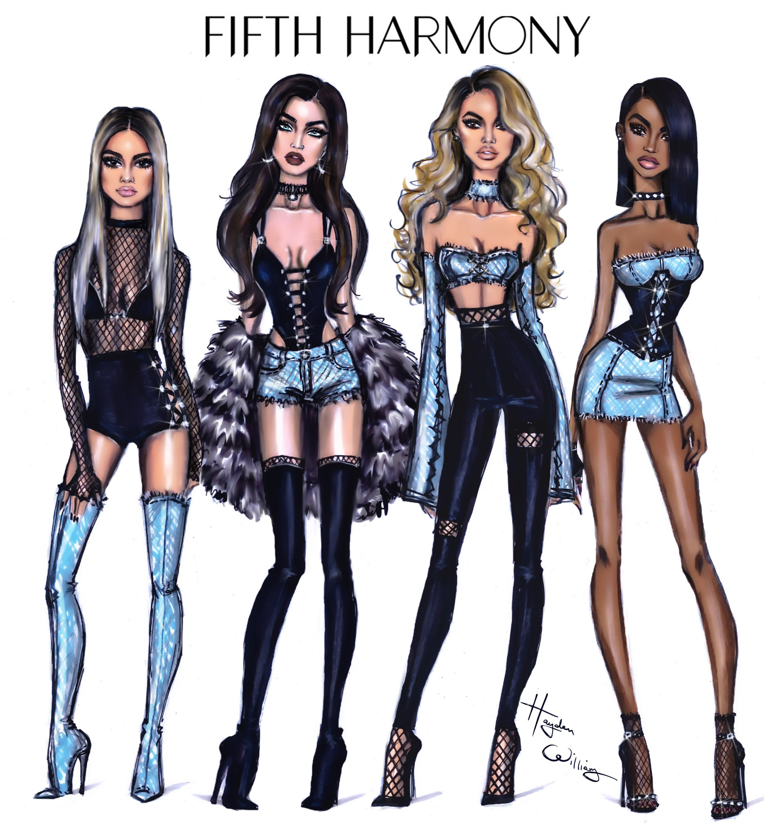 #FifthHarmony By Hayden Williams