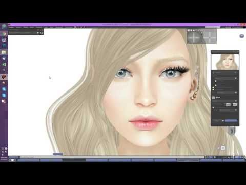 How To Make Lips For Your Second Life Avatar ~ Metaverse Tutorials ...