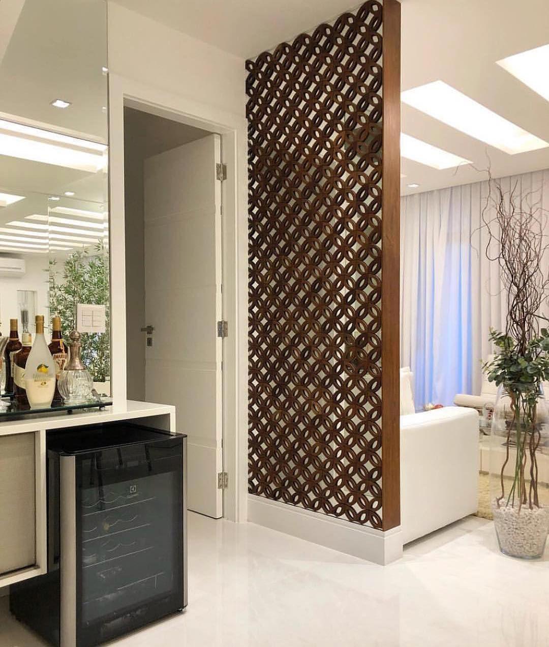 بارتشن خشبي عمل ديزاين جميل في الديكور صوفا ديزاين منظر دبلكس بارتشن باركيه Inside Dundurn Cas Living Room Partition Design Partition Design Home Decor