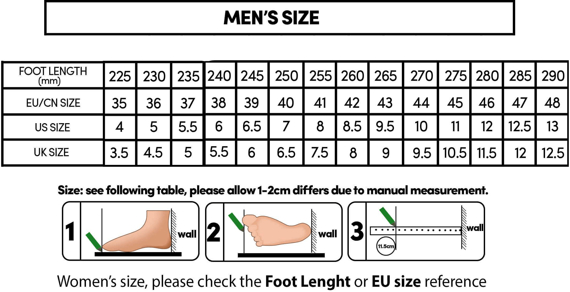 Indestructible Shoes Size Chart In 2020 Shoe Size Chart Kids Nike Shoes Size Chart Rubi