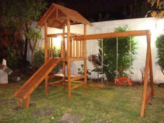 juegos infantiles de madera para exterior - Buscar con ...