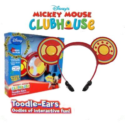 Mickey Mouse Clubhouse Toodle-Ears Disney Head band