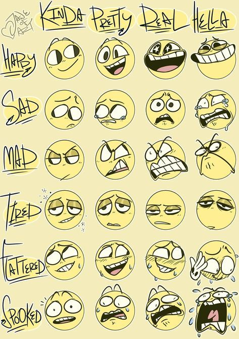Super dessin dessin animé fait face à des expressions faciales art 70+ idées