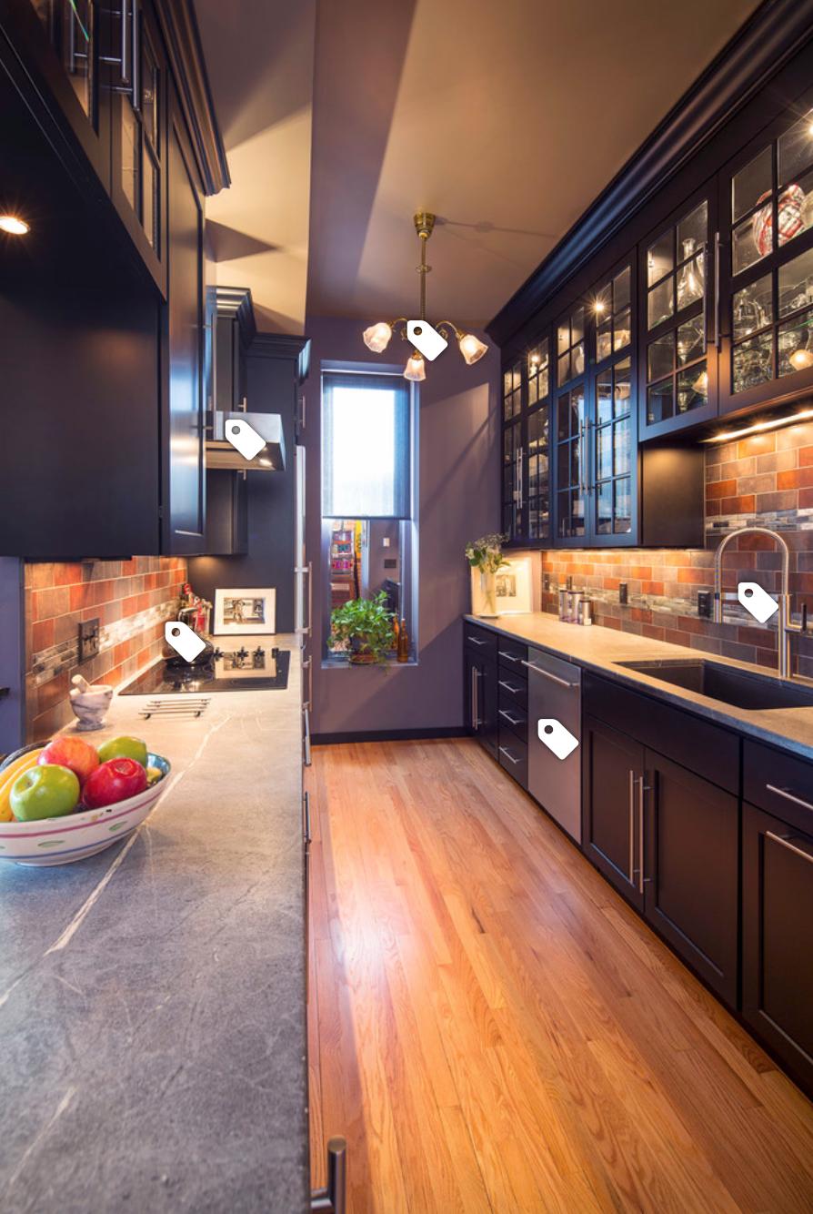 Galley Kitchen Design (Small, Unique, Modern Galley ...
