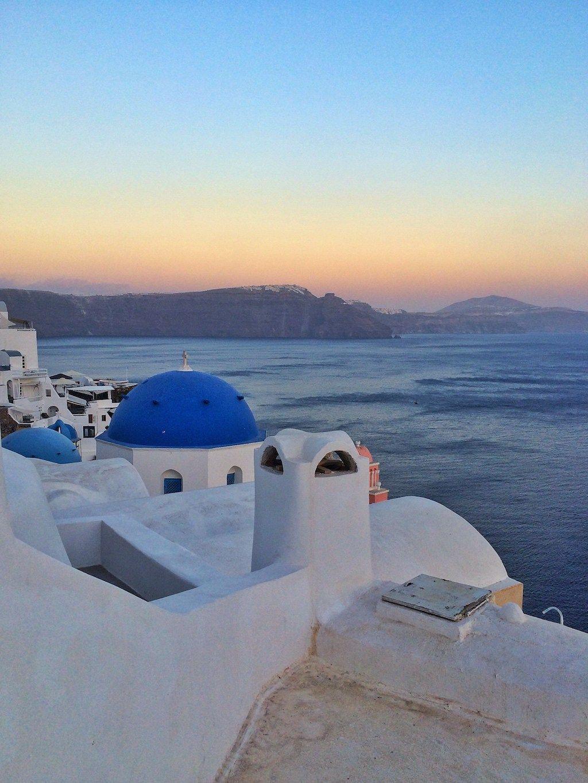 Ile grecque paysage
