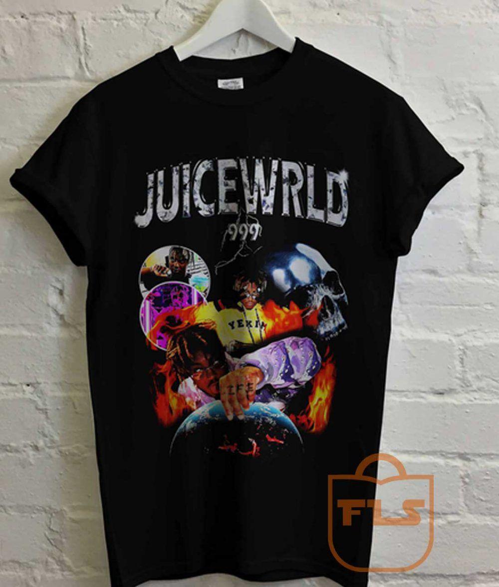 Juice wrld 999 t shirt cheap cute tees