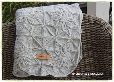 Alice In Hobbyland Bloemenplaid Kabels Haken Crochet Crochet