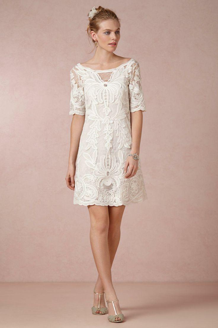 Inspire-se: vestido de noiva curto. | vestidos | Pinterest ...