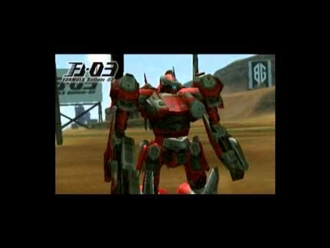 Armored Core Formula Front Extreme Battle Gameplay For Psp