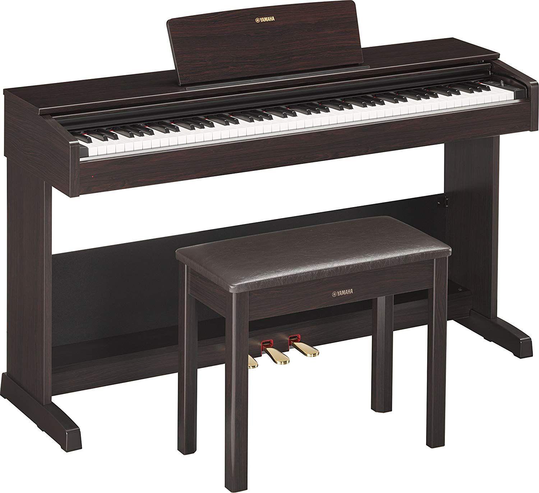 Yamaha Ydp103 Arius Series Digital Console Piano With Bench Dark Rosewood In 2020 Digital Piano Yamaha Digital Piano Best Digital Piano