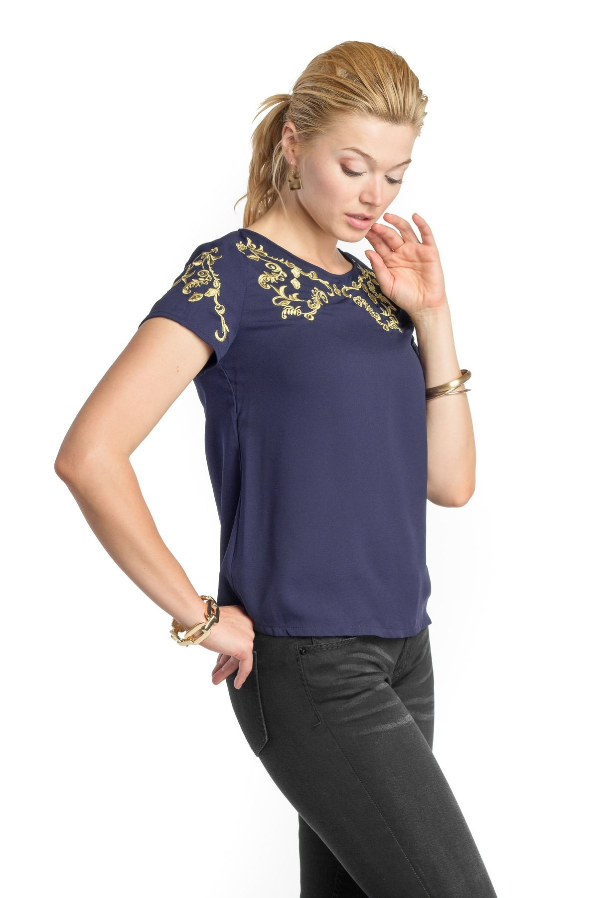Goldie Laurel Blouse