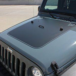 Outfitter Hood Jeep Matte Black Hood Decal Jeep Wrangler 2017