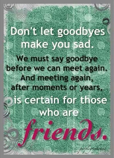 Military Friends | Military :) | Goodbye quotes ...