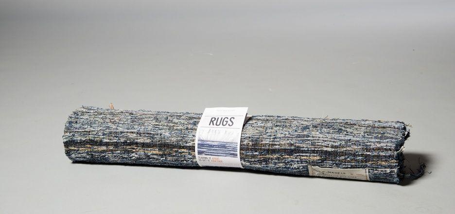 #reuse Rag rug made of worn out jeans – Nudie Jeans