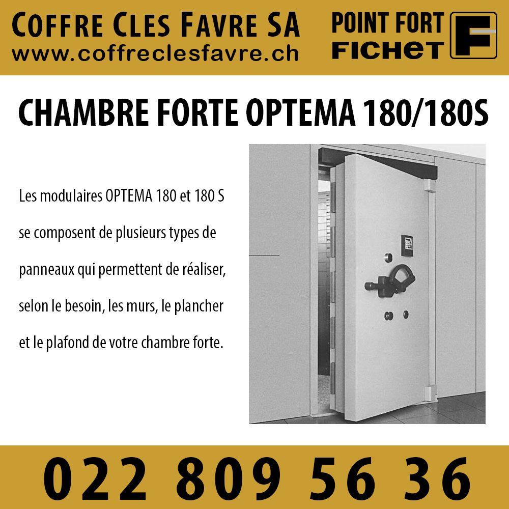 Chambre forte de banque Optema 180/180 S Les modulaires OPTEMA 180 ...