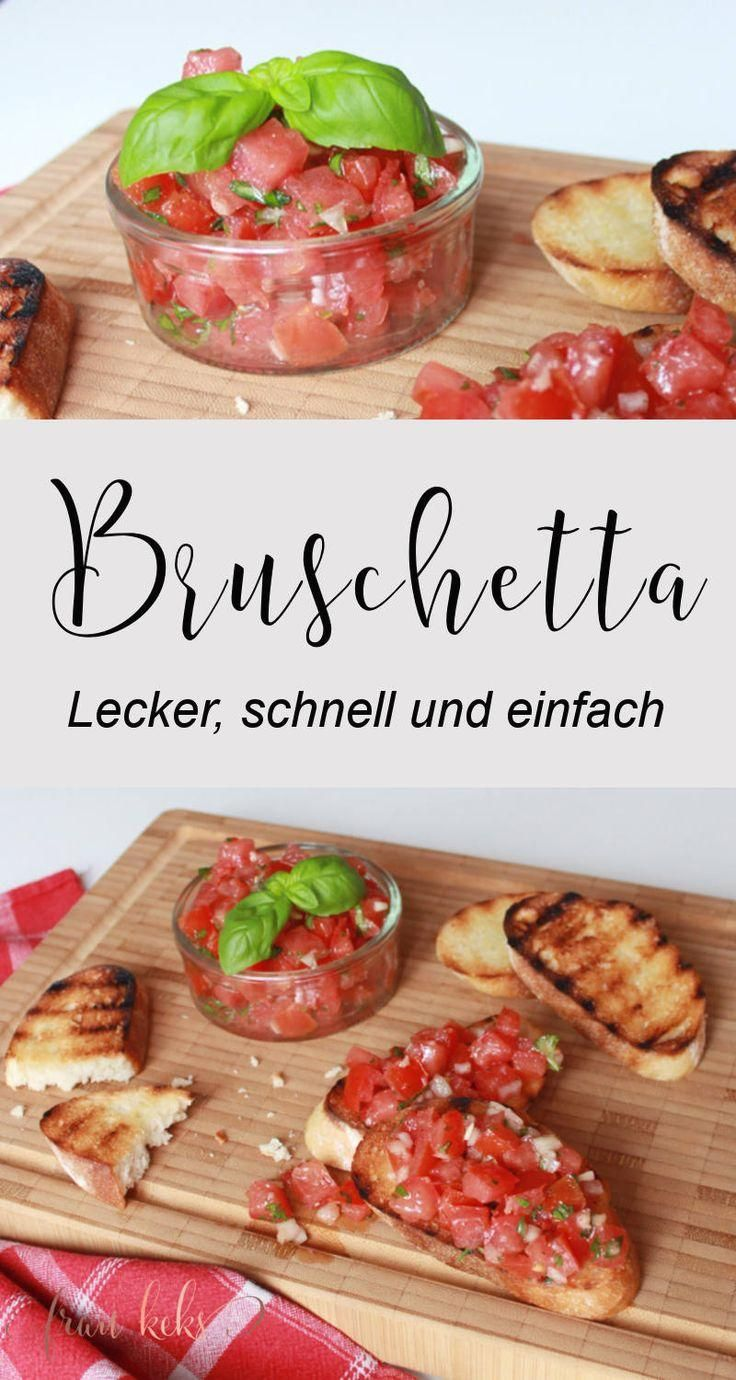 Photo of Bruschetta always works! Whether for grilling, as a light summer dish or einf …