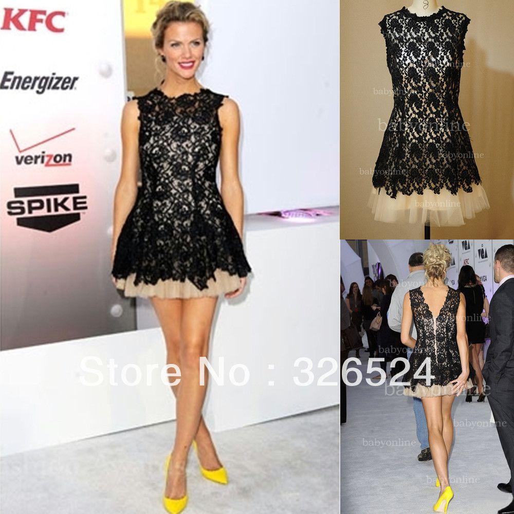 Celebrity Short Evening Dresses