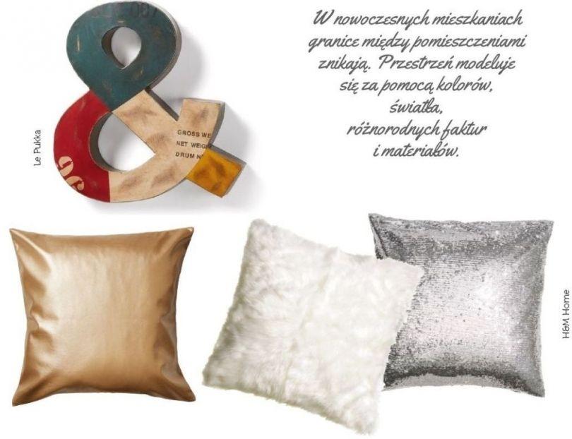Dodatki wielkomiejski styl -poduszki