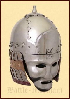 Mongolian helmet of Golden Horde 14th century.