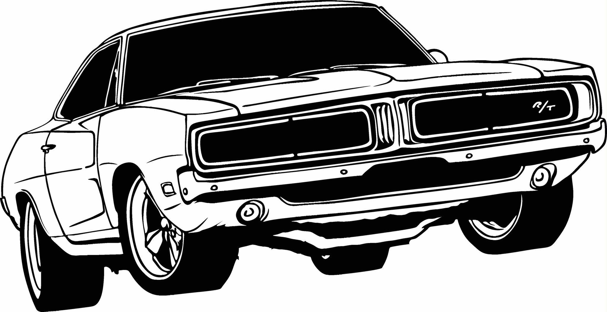 1969 Dodge Charger Vinyl Cut Out Decal, Sticker - Choose your Color ...
