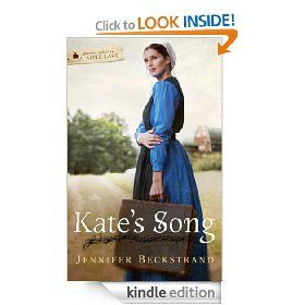Kate's Song by Jennifer Beckstrand - I am on an Amish fiction kick, I guess. This one started off really good but got a little predictable.