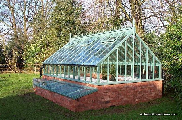 I want this!      Evan Douce Design's  VictorianGreenhouses.com