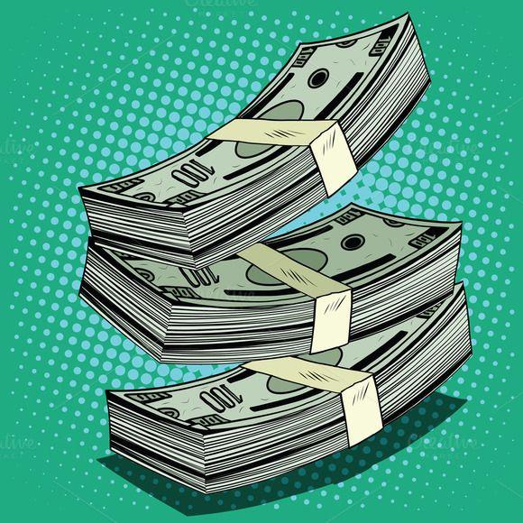 Stack of money dollar bills cash @creativework247 | Money ...
