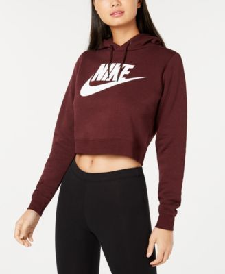 ad1d7a8dd8 Nike Sportswear Rally Logo Cropped Fleece Hoodie in 2019 | Products ...