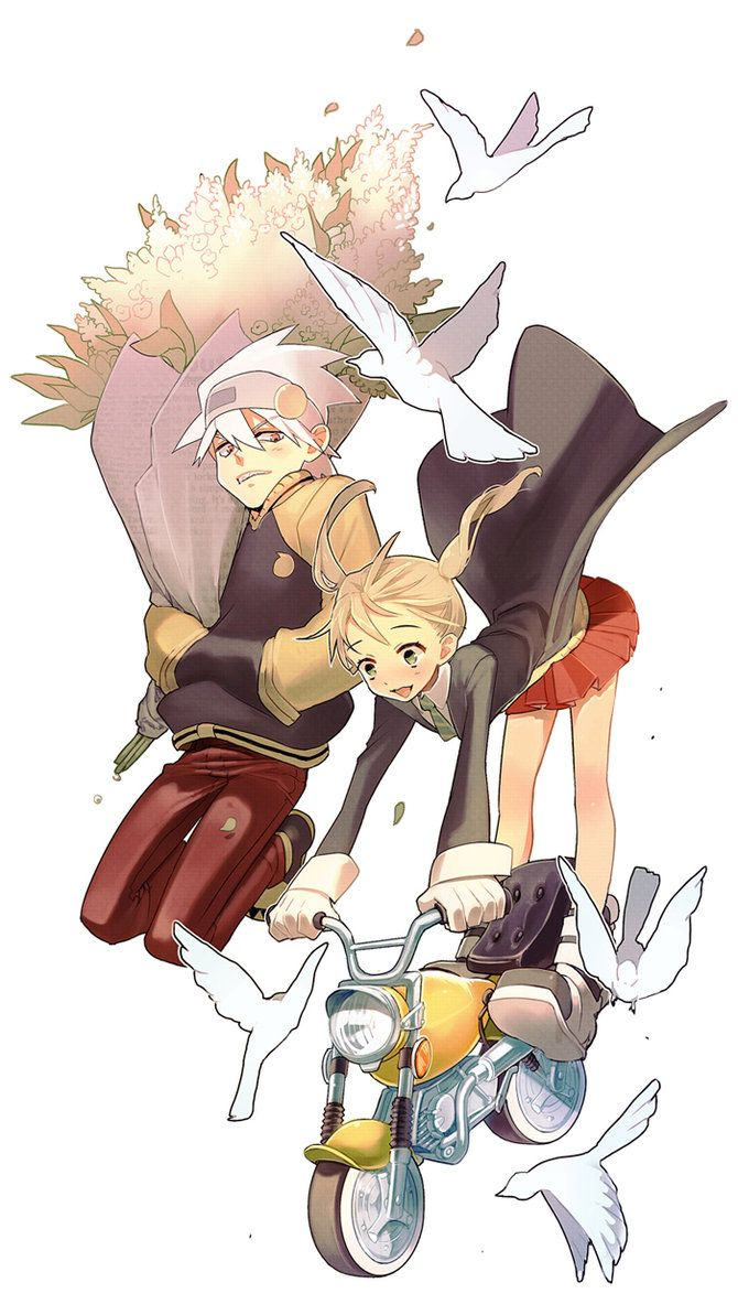 Soul Eater:: Soul + Maka by kissai on deviantART