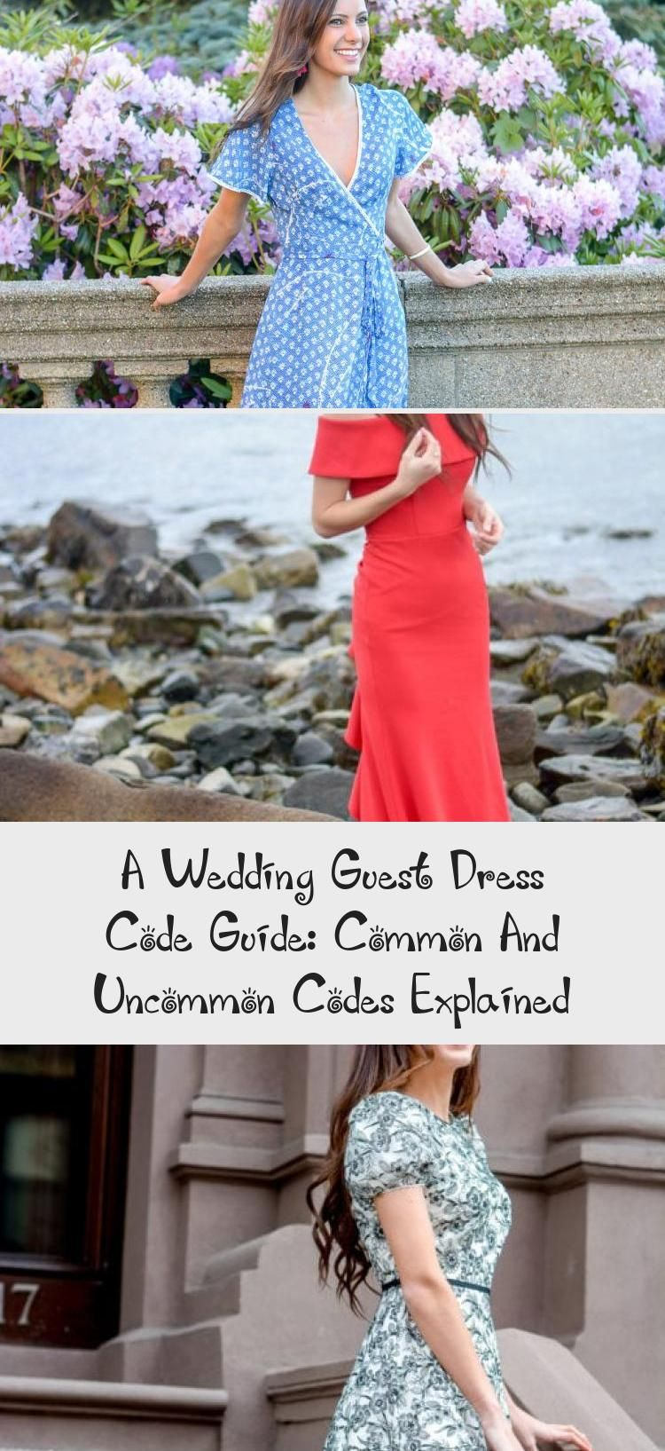 A Wedding Guest Dress Code Guide: Common And Uncommon ...